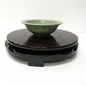 龙泉釉双鱼碗