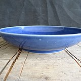 老蓝釉盘子