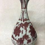 釉里红玉壶春瓶
