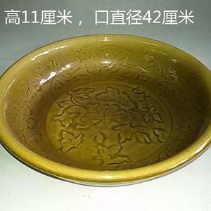 龙泉窑花卉盆