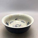 老青花瓷碗A0201