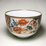 日本回流!漂亮粉彩茶碗茶杯茶盏一个