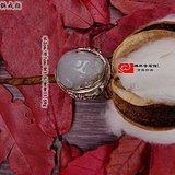 和田玉新疆籽料貔貅包银戒指真然系列