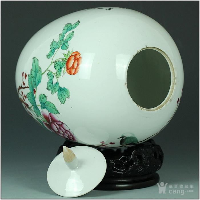 媲美官窑的全品相细瓷美器!全网最低价!解放初富贵白头粉彩大罐