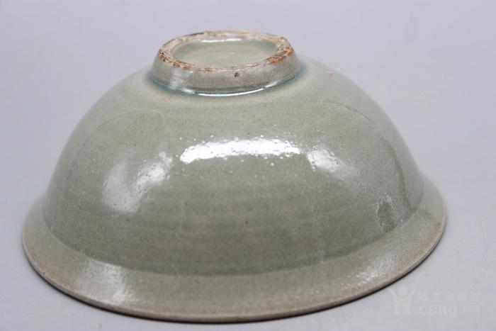 汝窑青釉印花碗
