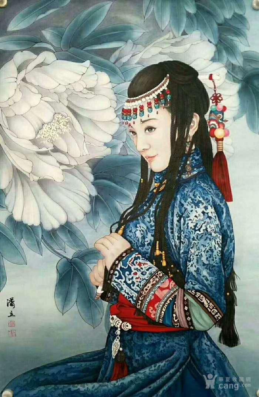 天来堂 百变野派杰出画家潇立 西域人物作品欣赏单幅价格