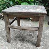 苏工清代榉木刀牙板方凳禅凳