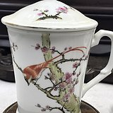 醴陵粉彩茶杯