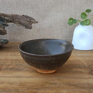 南宋吉州窑酱黑釉茶盏