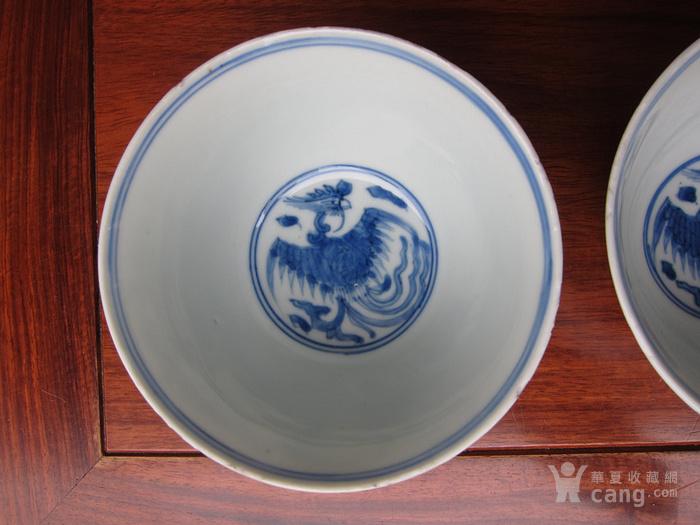 景德镇窑万历年青花双凤碗