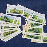 旧彩票,25张中国福利即开型彩票