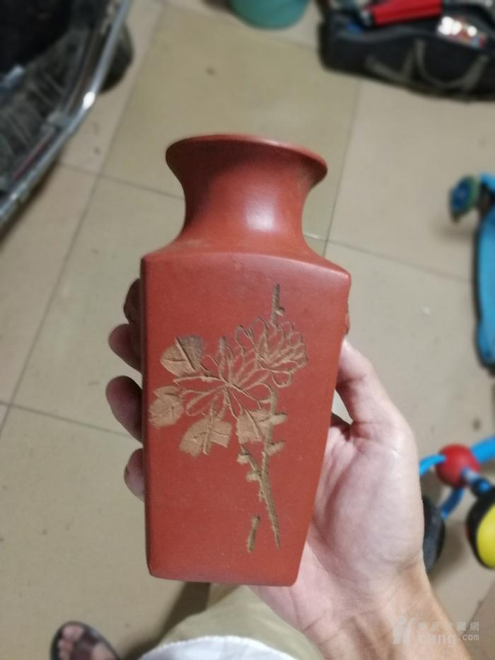 老紫砂赏瓶