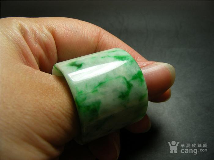 几十年的正宗A货白瓷种飘正阳绿翡翠