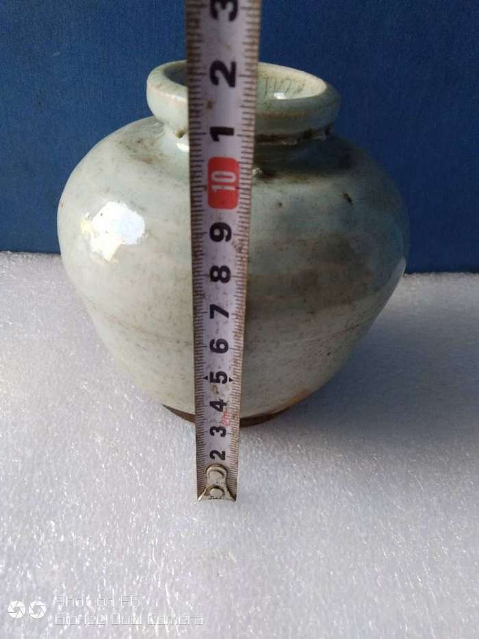 清中期小口罐