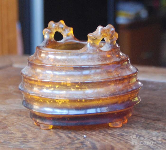 金星料器香炉