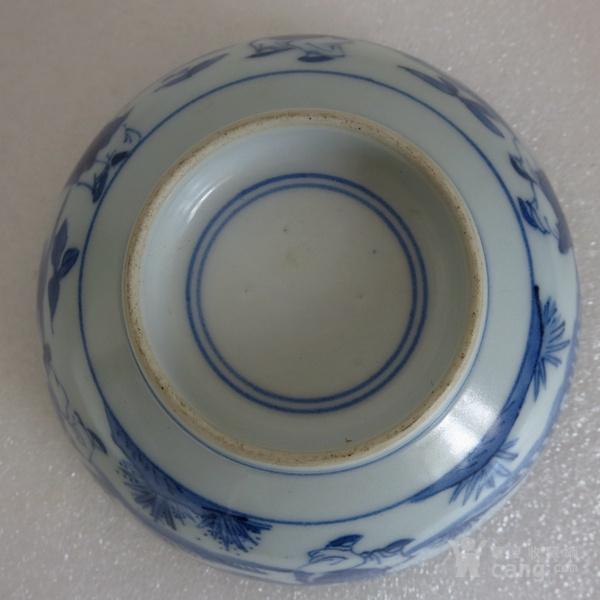青花瓷碗 五子登科碗 婴戏图碗图7