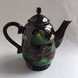 八十年代福州漆器壶
