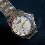 名表瑞士浪琴全自动镶钻手表