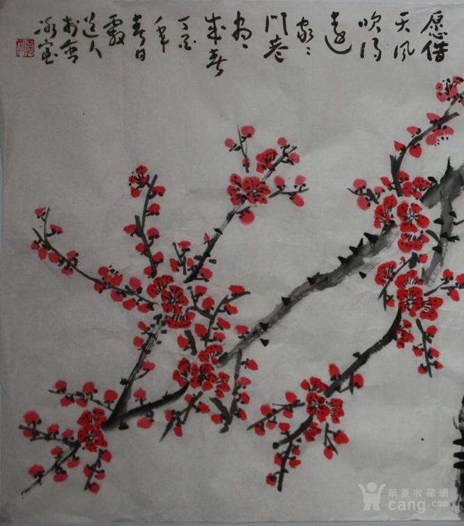 至美艺术风景梅花图片