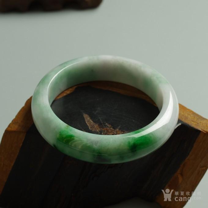 辣绿正圈翡翠手镯 57mm  25P60 3图6