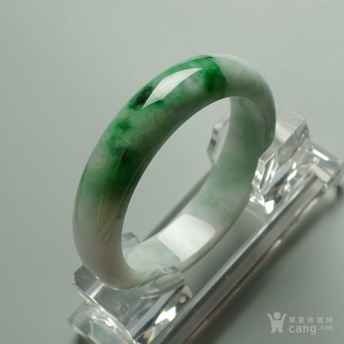 辣绿正圈翡翠手镯 57mm  25P60 3图9