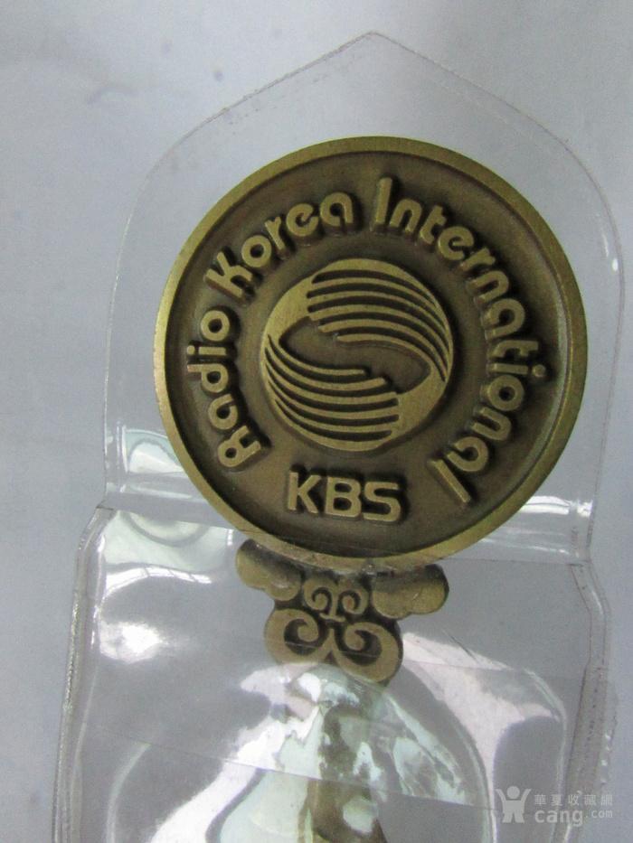韩国 铜牌 青 铜