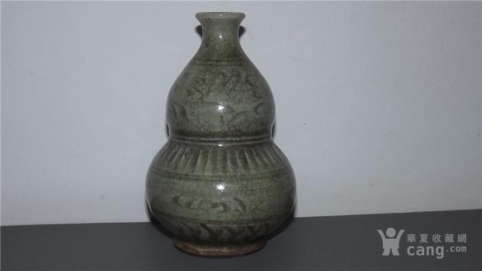 明代龙泉窑葫芦瓶