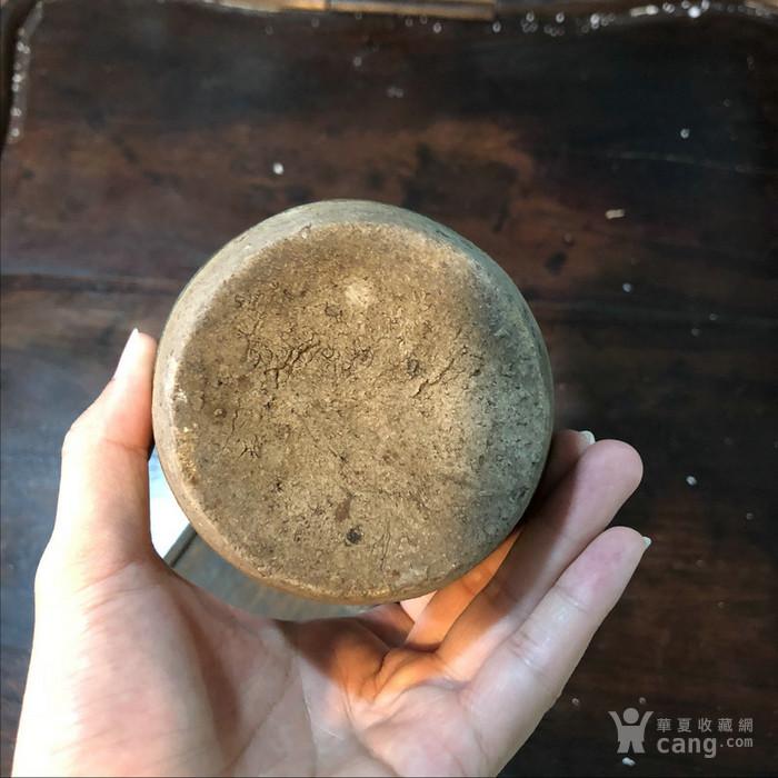 清代老石湾茶罐