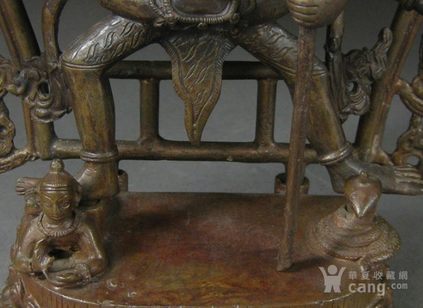 清代空行母铜造像