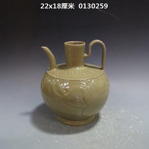 耀州窑花纹壶