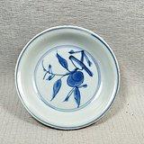 花鸟纹青花茶盘