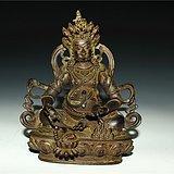 铜财神佛像