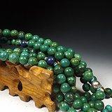 几十年的绿松石大圆珠把玩串