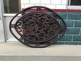 红木雕刻龙凤呈祥挂屏装饰必备,做工精致,尺寸大