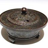 铜制熏炉一个