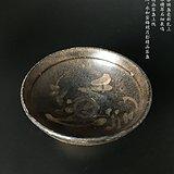 南宋 永和窑梅梢月影茶盏