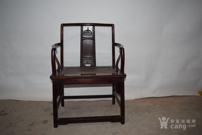 兄啊也紫檀椅子,亏本出售图2