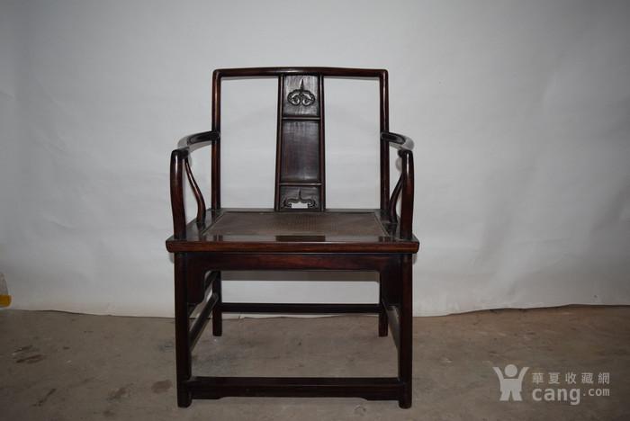 兄啊也紫檀椅子,亏本出售图3