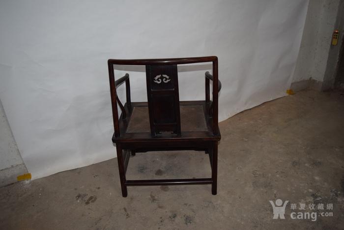 兄啊也紫檀椅子,亏本出售图12