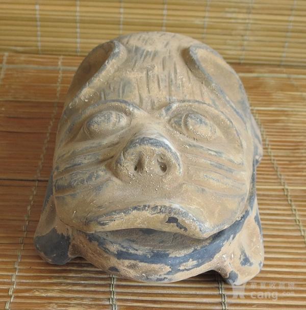 澄泥砚 猪福砚 动物砚 猪砚 猪八戒砚图3