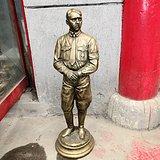 西洋回流外国铜像 希特勒铜像