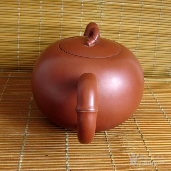 朱泥紫砂壶 竹节壶 友兰秘制壶图3