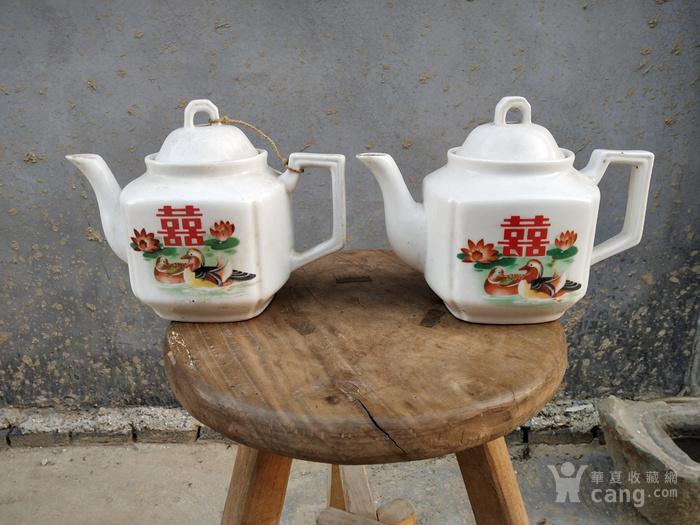 七八十年代茶壶两把
