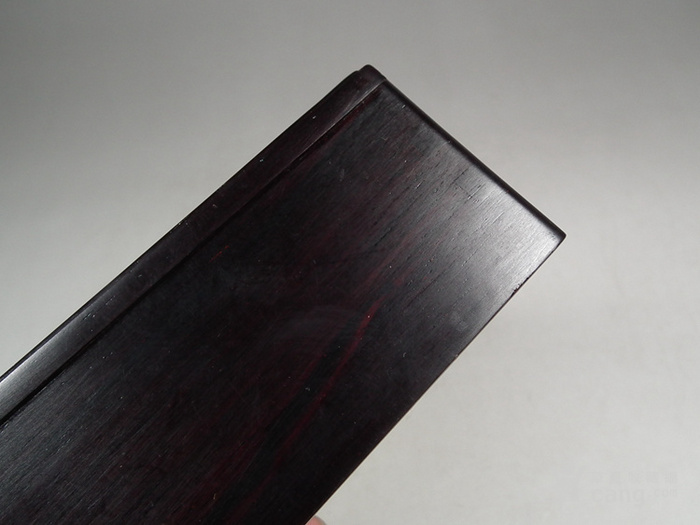 老料新工几十年的老酸枝木方形木盒