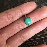 清代老松石戒指