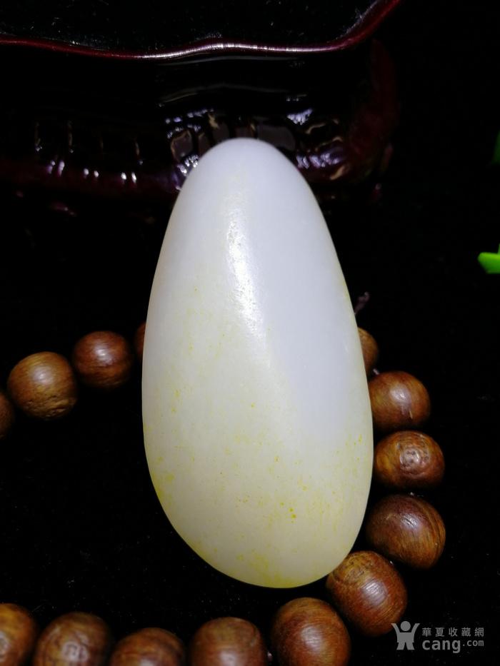 天然和田玉羊脂白玉籽料随形原石老坑老料图5