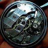 瑞士浪琴超薄机芯怀表
