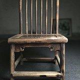 苏工明式清代老榉木小梳背椅