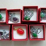 7件翠玉宝石饰品