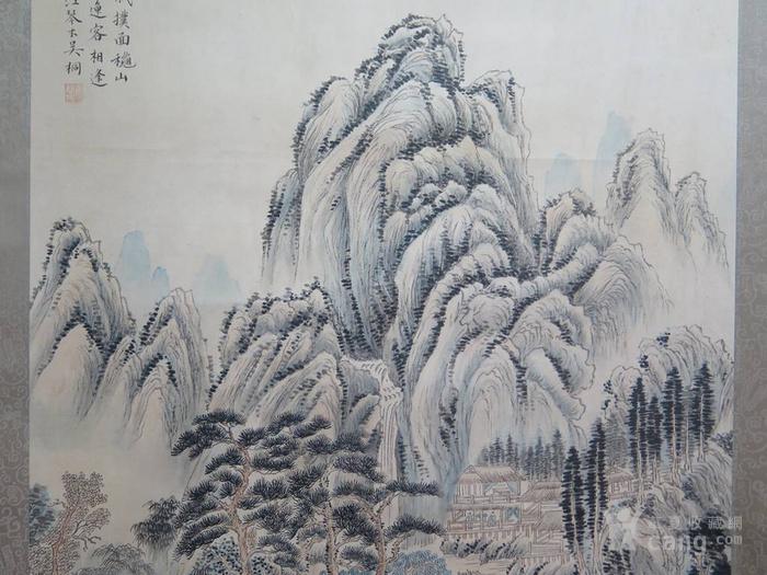 吴琴木.山水人物